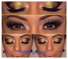 Negro y dorado perfecta combinación