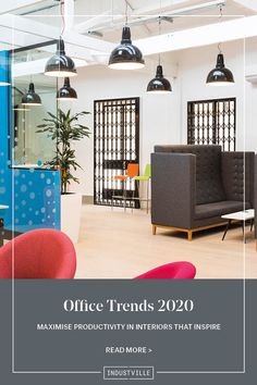 Maximise productivity and create an office that inspires your workers. Find out from the experts at ThirdWay Interiors how you can employ 2020's newest office trends.  📸 Image Credit: IG: @thirdwayinteriors, Twitter - @thisisthirdway, LinkedIn - ThirdWay Interiors   #OfficeInterior #OfficeSpace #InteriorDesign