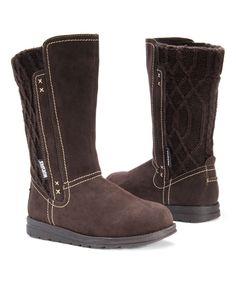 Dark Brown Stacy Boot - Women