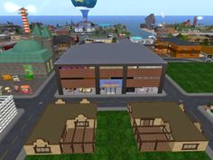 OMGoodness, my Kitely avatar (Sally Cherry) is heading for...  Kaufrausch Mega-Store