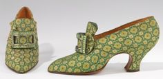~1920s green shoes~  #1920  #fashion