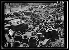 Scrap Yard Late 1950s Yards Cars And Abandoned Cars
