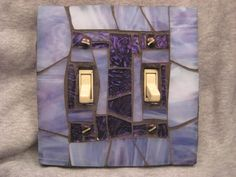 Mosaic switch plates! Now that's a fun easy project to add a little art to something so boring!