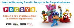 Funny games, Origami, App world, Cartoons, Drawings, Crafts | Pocoyo