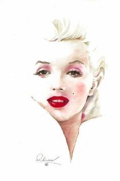 Marilyn Monroe (white Marilyn)  | This image first pinned to Marilyn Monroe Art…