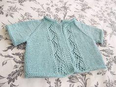 j'adore knitting: Vine Lace Cardi. free