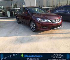 https://flic.kr/p/x9cyNR | Congratulations Loretta on your #Honda#Accord Sedan from Paige Simms at Honda Cars of Rockwall! | deliverymaxx.com/DealerReviews.aspx?DealerCode=VSDF