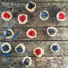 Rustic Berry Tartlets