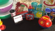 Children Lunch Items, Tumblers, and toys