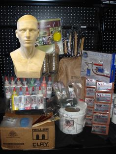 Deluxe Latex Mask Making Kit - Halloween Mask Making Kits - LATEX MASK MAKING KITS - The Monster Makers