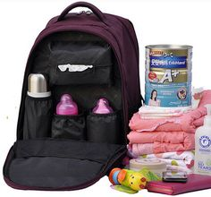 Safe Baby Diaper Nappy Changing Bag Tote Womens mens Backpack Mummy Travel bags #100safeforbabies