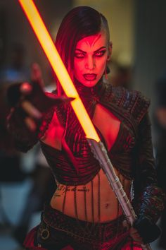 Miss Sinister Cosplay als Sith