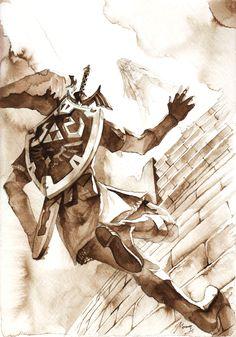 The Legend of Zelda: Skyward Sword, Link and Zelda