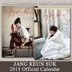 韓国エンターテイメントポータルサイト KOARI(コアリ) / チャン・グンソク「2015オフィシャルカレンダー」≪壁掛け+卓上セット≫