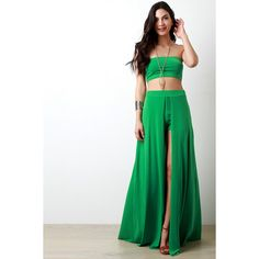 Green, Black or Fuchsia Solid Stretchy Tube Top ($28) ❤ liked on Polyvore featuring tops, stretchy tops, green top, fuschia top, elastic tube top and tube top
