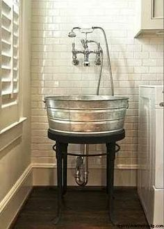 Awesome! Maybe for a mud room or laundry room don't think for a bathroom though...