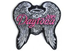Angel Wings Daytona Bike Week 2013 Patch