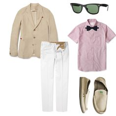 "Meredith submitted this look for the ""Elegant Beach Chic"" for Guys fashion challenge"