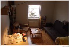 ワンルームで参考にして欲しいアースカラーの部屋 北欧インテリアコーディネート