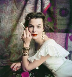 .:  Lillian Marcuson, photo by Milton Greene, 1954  :.