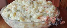 Rychlovka na super večeři Parmesan, Potato Salad, Mashed Potatoes, Ethnic Recipes, Pizza, Coleslaw Recipes, Schokolade, Baking, Food Items