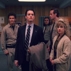 Twin Peaks crew.