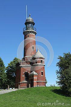 Alter Leuchtturm von Kiel Holtenau