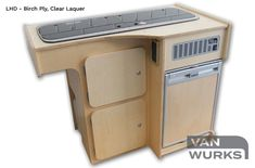 Deluxe-Kompact-VW-T2-T25-Split-Stand-Alone-Unit-Clear-Laquer-01