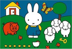 Puzzles, Dutch Rabbit, Elsa Beskow, Miffy, Japanese Poster, Bible Crafts, All Things Cute, Fairy Tales, Hello Kitty