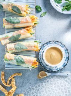 Rouleaux croustillants au tofu #meatless #vegetarian #foodphotography #ricardo