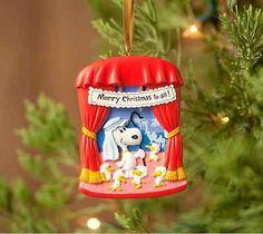 Peanuts Christmas Pageant Keepsake Ornament Snoopy Shepherds Woodstock