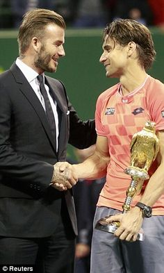 David Ferrer defeats Tomas Berdych to claim Doha title | Daily Mail Online