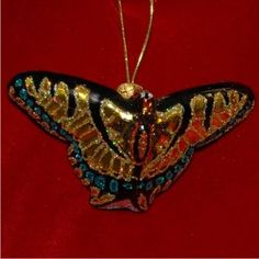 Swallowtail Butterfly - Christmas Ornament