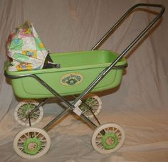 Cabbage Patch Kids Original Buggy Stroller. I got this for Christmas one year when I was about 3 or 4 along with some other Cabbage Patch items. That was a great Christmas :)