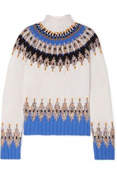 11 Chic Sweater Outfits to Inspire Your Fall Wardrobe Jumper Outfit, Sweater Outfits, Sweater Fashion, Fashion Editor, Fashion Brands, Fair Isle Pullover, Alexander Mcqueen, Marc Jacobs, Christian Louboutin