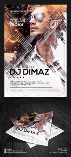 Best Guest DJ Flyer Template