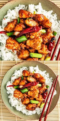 This easy Mongolian Chicken is ready in only 30 minutes, so skip the take-out and enjoy this delicious crispy chicken with a sweet and savory sauce right at home. Quick, simple, utterly delicious and every bite is packed with tons of flavor. Easy Pasta Recipes, Dinner Recipes, Easy Meals, Cooking Recipes, Recipe Pasta, Dinner Menu, Simple Food Recipes, Wok Recipes, Cooking Eggs