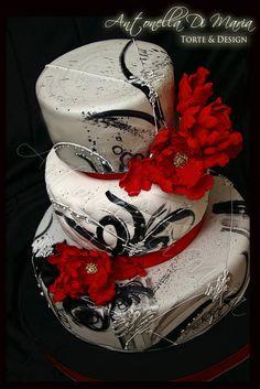 Italian Graduation Cake by Antonella Di Maria Torte and Design