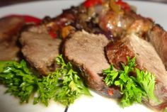 Retete Culinare - Friptura de rata la cuptor Steak, Good Food, Goodies, Cooking Recipes, Beef, Meals, Sweet Like Candy, Meat, Gummi Candy