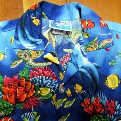 Details about hawaiian aloha shirt size 2xl atlas world map details about rjc hawaiian aloha shirt size 1t toddler infant under sea turtle reef dolphins gumiabroncs Choice Image