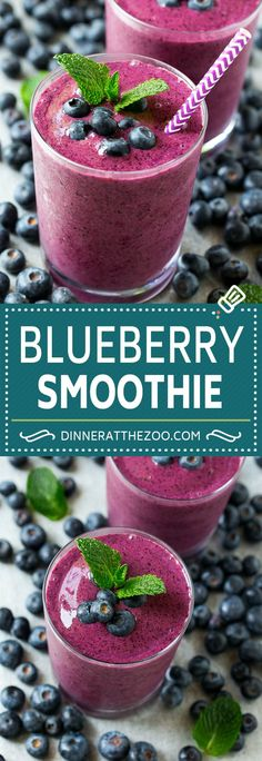 Breakfast Delights Blueberry Smoothie R Food & Drink Healthy Snacks Nutrition Cocktail Recipes Blueberry Smoothie Recipe Easy Smoothie Recipes, Good Smoothies, Smoothie Prep, Smoothie Drinks, Smoothie Bowl, Fruit Smoothies, Diet Drinks, Beverages, Blueberry Smoothie Recipes