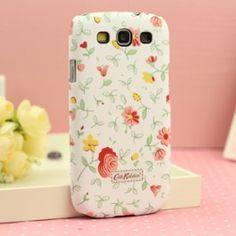 Cath kidston Samsung Galaxy S3 case Flower White