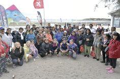 """A días de haber encabezado el gobernador Mario Das Neves el lanzamiento oficial del programa de turismo social """"Chubut se disfruta"""", el mismo dio comienzo el viernes en Puerto Madryn con el arribo de 60 abuelos provenientes de las 20 comunas rurales de la Provincia."""