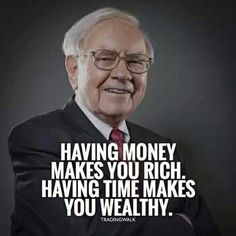 Trading Quotes Wealth is spending your days the way you choose, rather than working to earn more money or worrying about how much you have already. Having time in this way, means satisfaction the ability to live the kind of life that makes you happy.