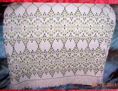 Swedish Weaving Club: Dolores's Afghans