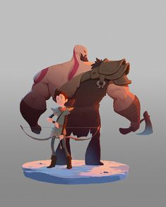 ArtStation - God of War, YC 3