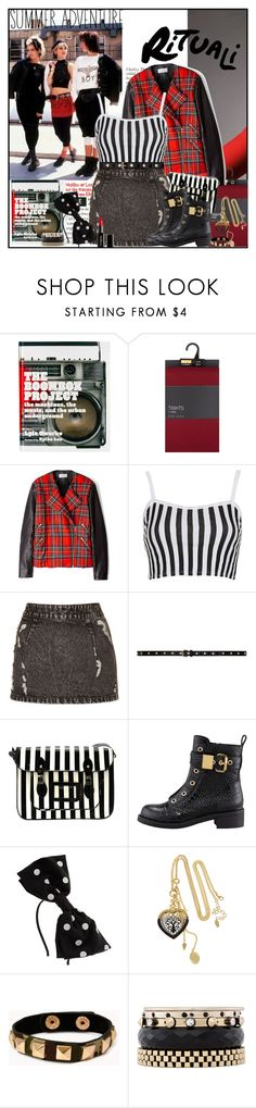 """""""You Can't Build Castles on Quick Sand"""" by sweet-jolly-looks ❤ liked on Polyvore featuring Abrams & Chronicle, Preen, Topshop, Yves Saint Laurent, Giuseppe Zanotti, Miss Selfridge, LK Designs, Forever 21, Iosselliani and Gorgeous Cosmetics"""