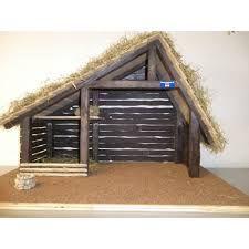 Image result for kerststal zelf maken van hout