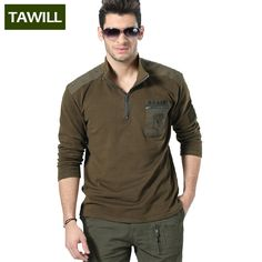 TAWILL 2016 New Military  Slim Polo shirt men Air force one Prints Designs army soldier brand clothing Asian size 6007