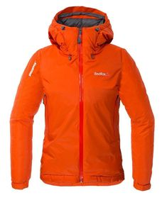 Women's Down Shell Insulated Jacket - L-50 / Brick Red